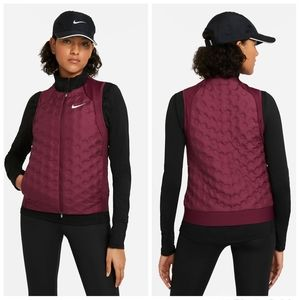 NWT|Nike Aeroloft Quilted Down Running Vest